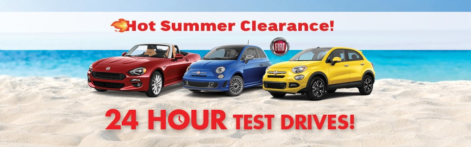 FIAT Summer Clearance!
