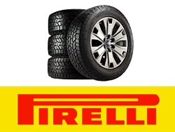 Buy 4 Select Goodyear or Pirelli tires, Get up to $100 rebate by mail.