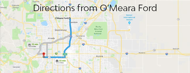 directions-from-O'Meara-Ford