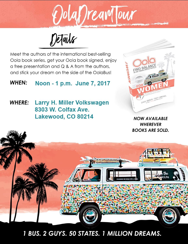 Oola Dream Tour In Denver June 7 2017