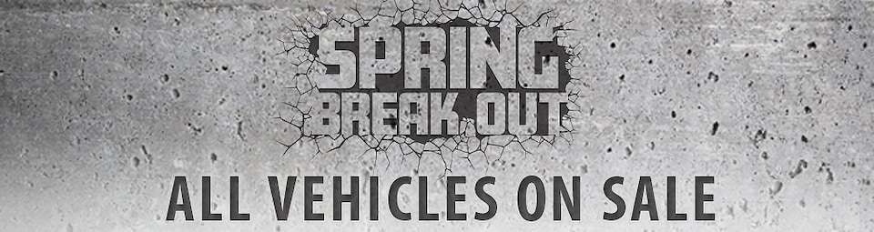 Spring Break Out Sale