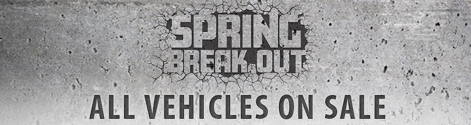 Spring Break Out Sale