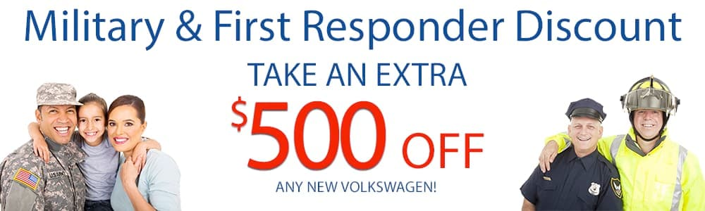 Volkswagen Military & First Responder Discount