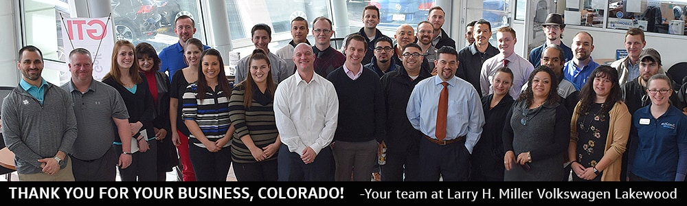 Larry Miller Volkswagen >> Volkswagen Sales Staff Denver Volkswagen Dealership