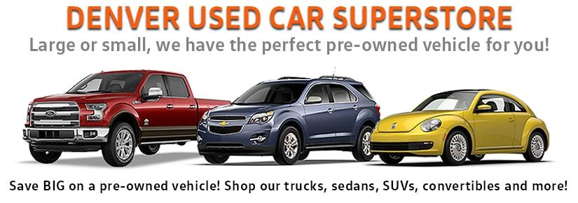 Used Car Superstore Denver Used Cars Trucks Suvs