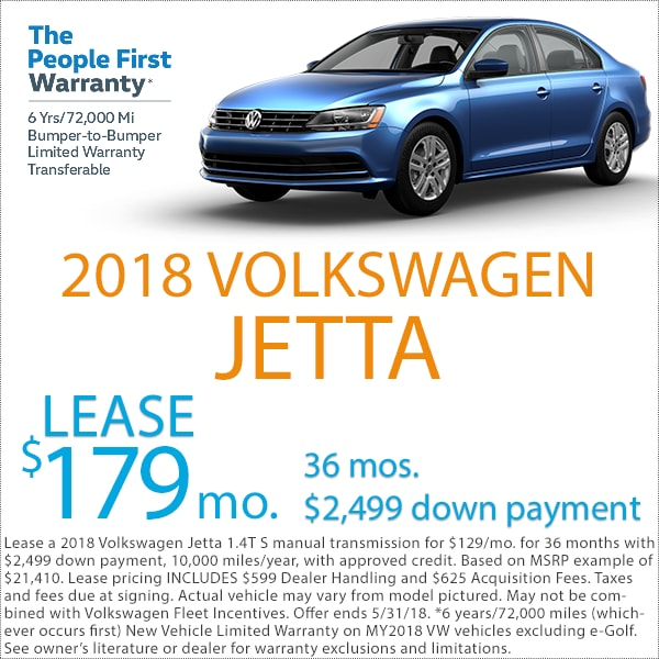 Denver Volkswagen Jetta Lease Deal