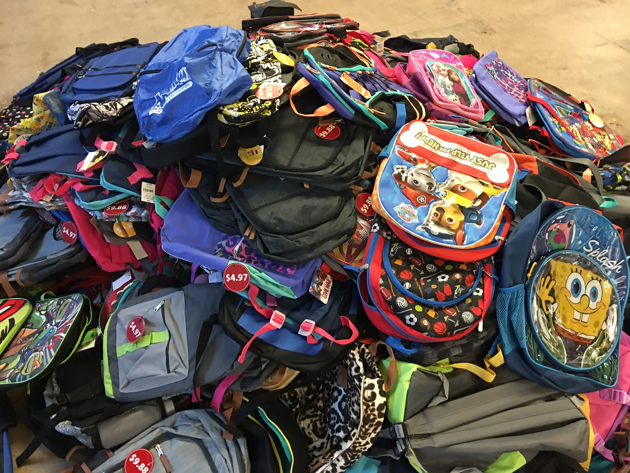 Backpacks for Larry H. Miller Dealerships Stuff for Students