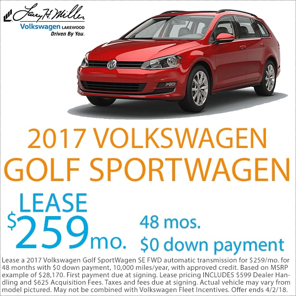 Denver Volkswagen Golf SportWagen Sale
