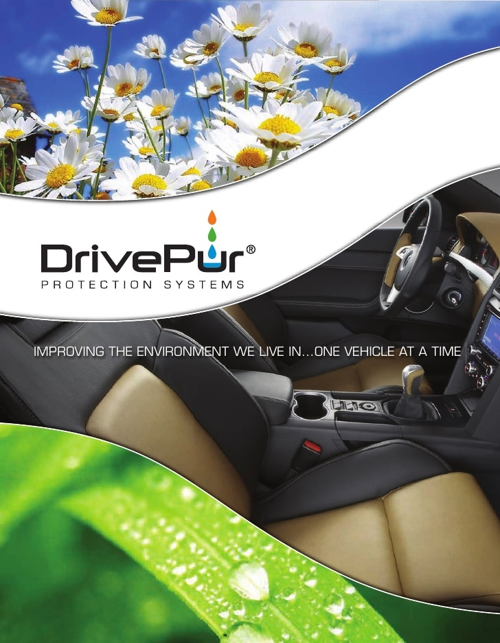 Download this brochure to learn about the DrivePur car cleaner