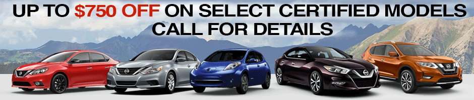 Certified Pre Owned Nissans For Sale In Denver Co