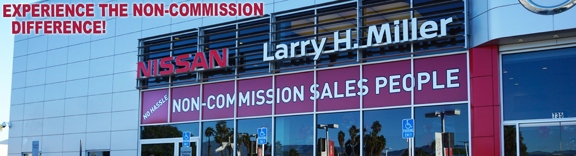 Larry H Miller Nissan San Bernardino Non-Commission Difference