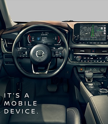 All-New 2021 Nissan Rogue - It's a Mobile Device