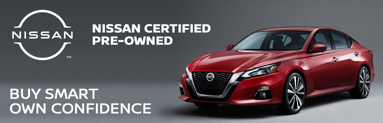Certified Pre-Owned Nissan Vehicles