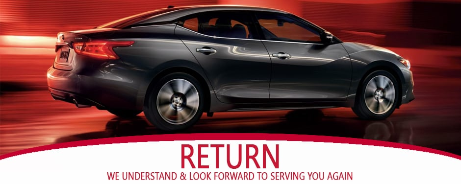 Return your Nissan Lease to Larry H. Miller Nissan San Bernardino