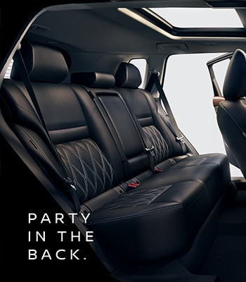 Party in the Back - 2021 Nissan Rogue