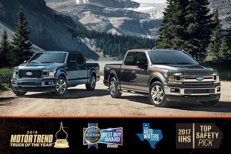 2018 Ford F-150 Awards