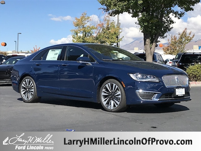 New 2019 Lincoln Mkz For Sale At Larry H Miller Lincoln Vin