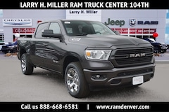 New Ram trucks and work vehicles 2019 Ram 1500 Big Horn Truck Crew Cab for sale near you in Denver, CO