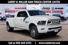 New Ram trucks and work vehicles 2018 Ram 3500 Laramie Truck Mega Cab for sale near you in Denver, CO
