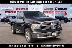 New Ram trucks and work vehicles 2018 Ram 1500 Big Horn Truck Quad Cab for sale near you in Denver, CO