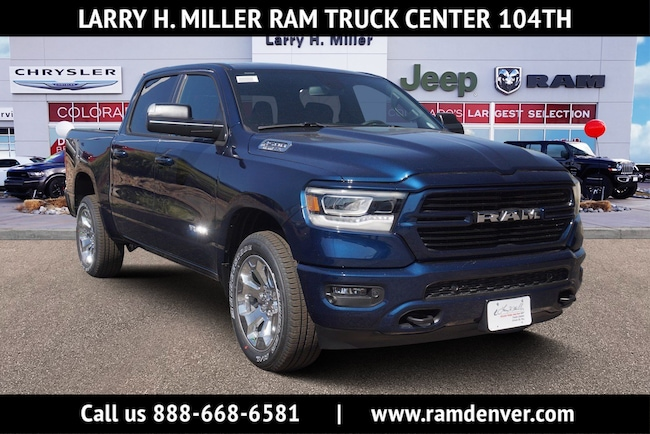 New Ram truck 2019 Ram 1500 Big Horn Truck Crew Cab for sale near you in Denver, CO