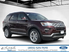New 2019 Ford Explorer Limited SUV Sandy