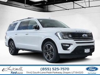 New 2019 Ford Expedition Max Limited SUV Draper
