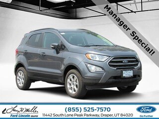 new Ford Ecosport 2018 Ford EcoSport SE 4WD I4 Engine for sale near you in Draper, UT