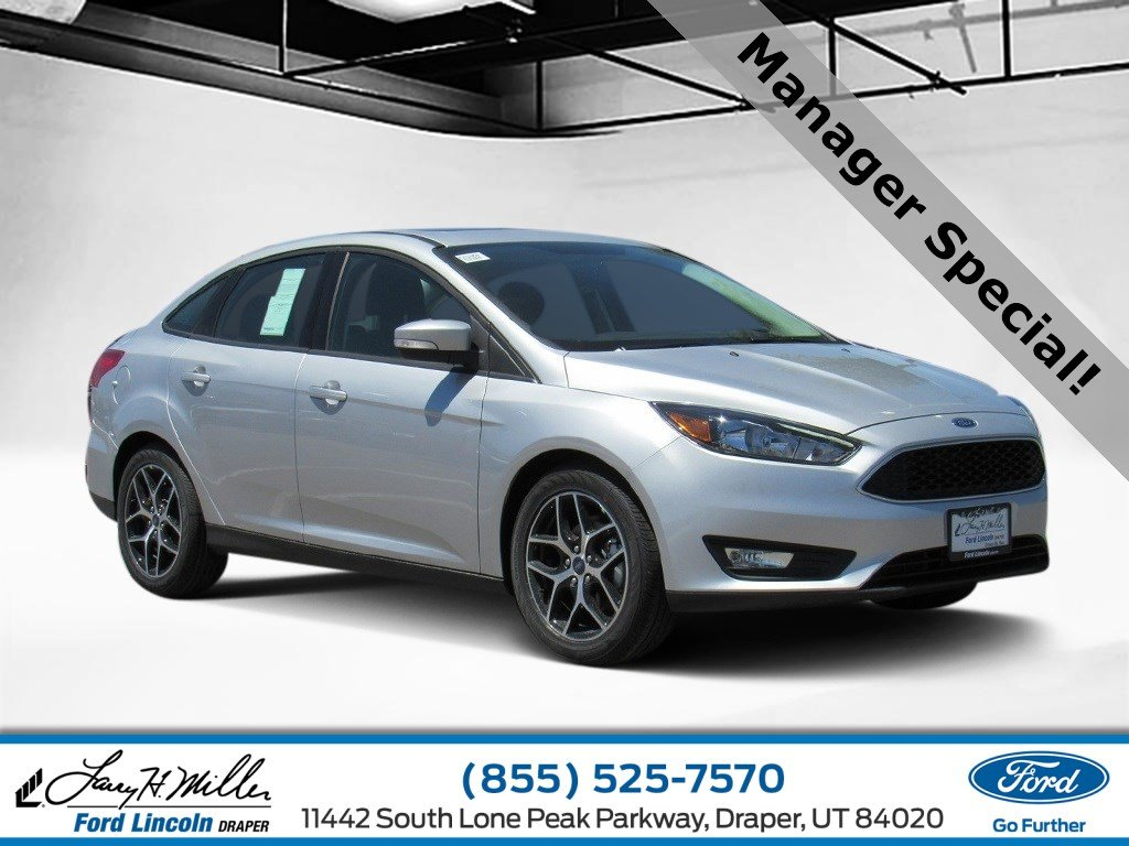 Featured new Ford Lincoln cars, trucks, and SUVs 2018 Ford Focus SEL Sedan for sale near you in Draper, UT