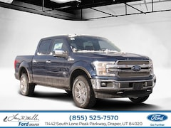 New 2019 Ford F-150 King Ranch 4WD SuperCrew 5-1/2 Box V6 Engine Sandy