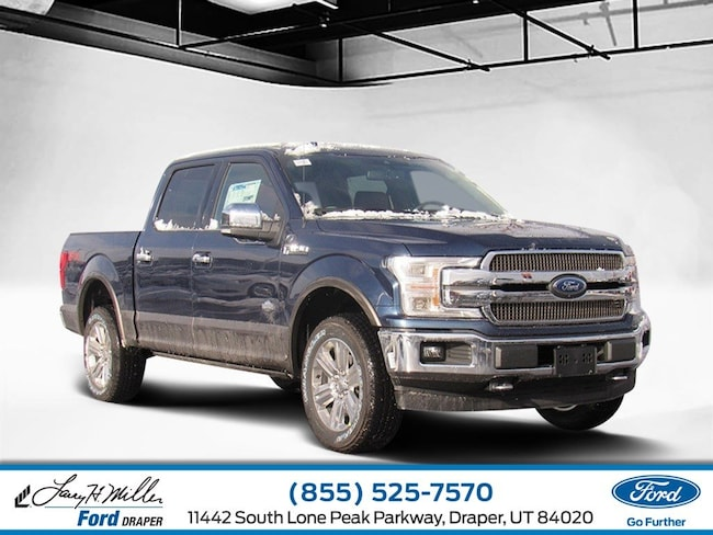 2019 Ford F-150 King Ranch 4WD SuperCrew 5-1/2 Box V6 Engine