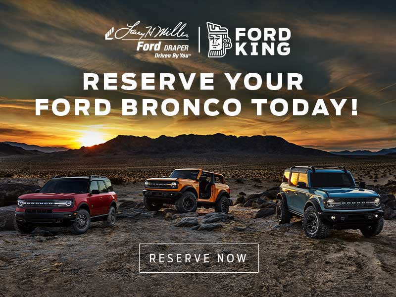 Reserve New Ford Bronco