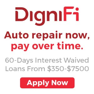 DigniFi Auto Repair Loans at Larry H. Miller Ford Draper