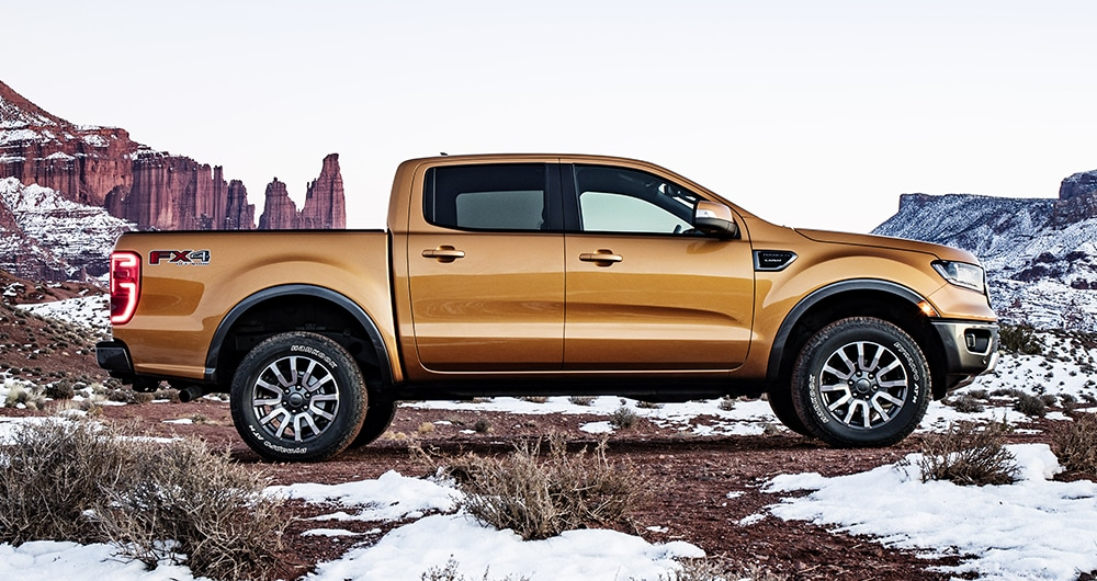 2019 Ford Ranger Side View