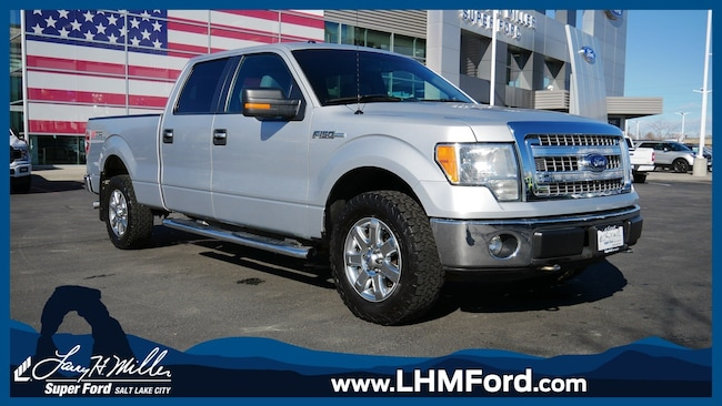 Used 2013 Ford F-150 XLT Crew Cab Short Bed Truck Salt Lake City