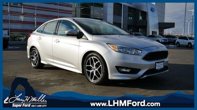 Used 2015 Ford Focus SE Sedan Salt Lake City