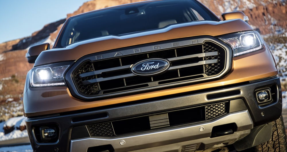 2019 Ford Ranger Grill
