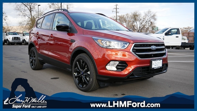 2019 Ford Escape SEL SUV EcoBoost Engine with Auto Start-Stop Technology