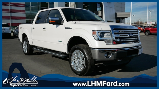 Used 2013 Ford F-150 Lariat Crew Cab Short Bed Truck Salt Lake City