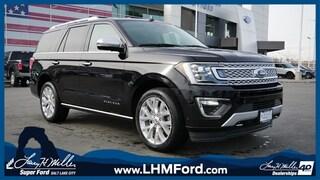 New 2019 Ford Expedition Platinum SUV Salt Lake City