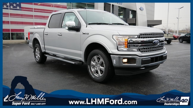 New 2019 Ford F-150 LARIAT Truck Salt Lake City