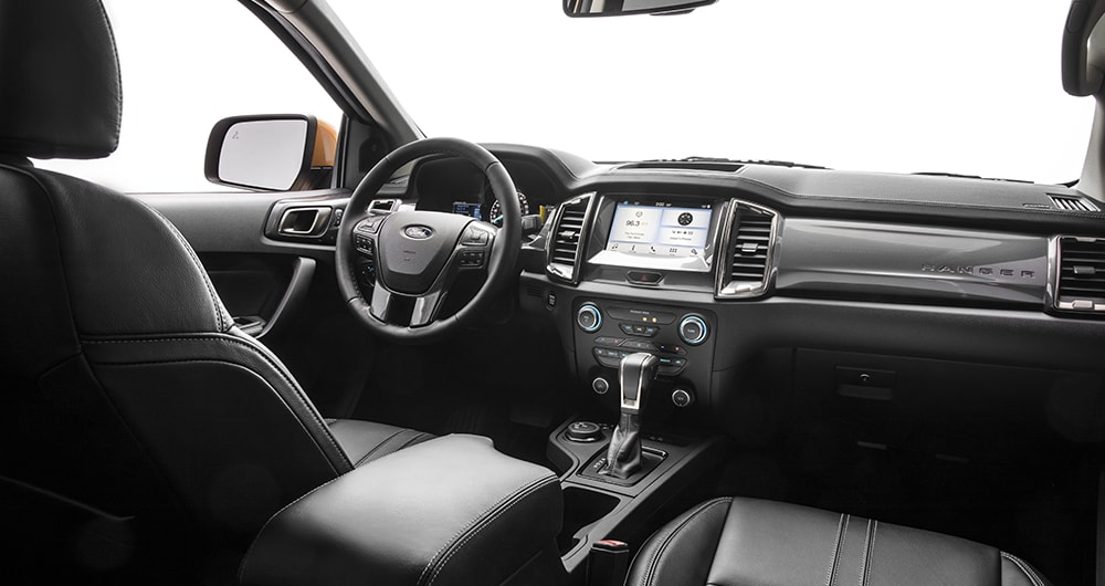2019 Ford Ranger Dashboard