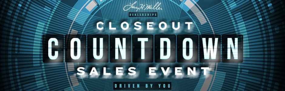 used car event closeout countdown larry h miller super ford. Black Bedroom Furniture Sets. Home Design Ideas