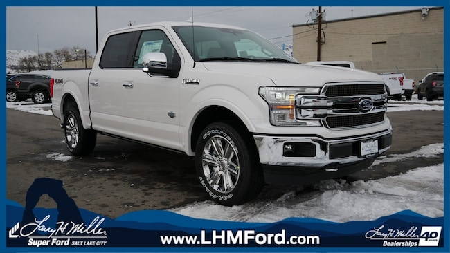 New 2019 Ford F-150 King Ranch Truck Salt Lake City