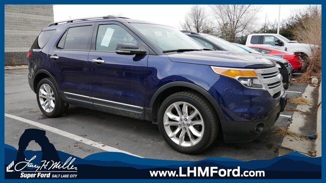 Used 2011 Ford Explorer XLT SUV Salt Lake City