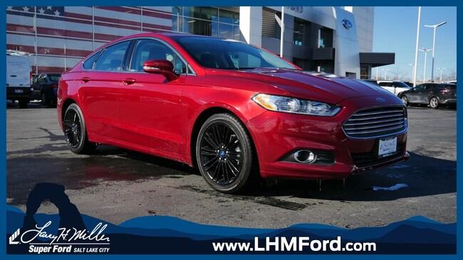 Used 2016 Ford Fusion SE Sedan Salt Lake City