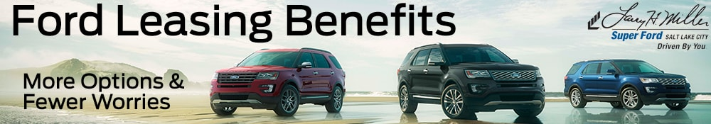Ford Leasing Benefits in UT
