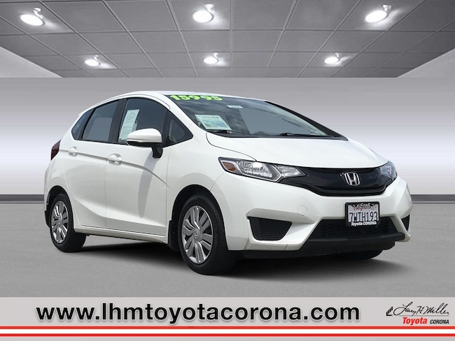 Used 2016 Honda Fit LX Hatchback Corona