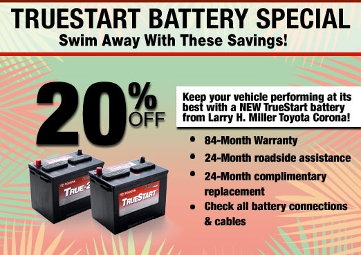 Truestart Battery Parts Special Coupon Toyota Corona