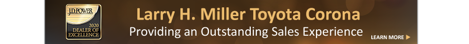 JD Power 2020 Dealer of Excellence Program Award Winner at Larry H Miller Toyota Corona